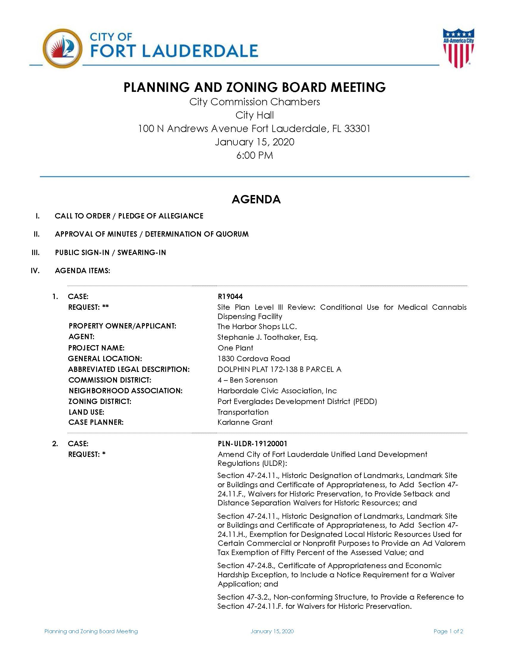 January_15_2020_Planning_and_Zoning_Board_Agenda_Page_1.jpg