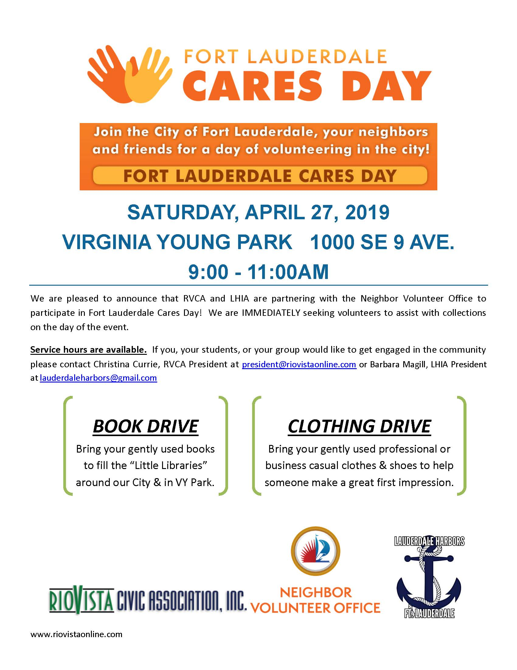 RVCA LHIA Joint CARES DAY 4.27.19